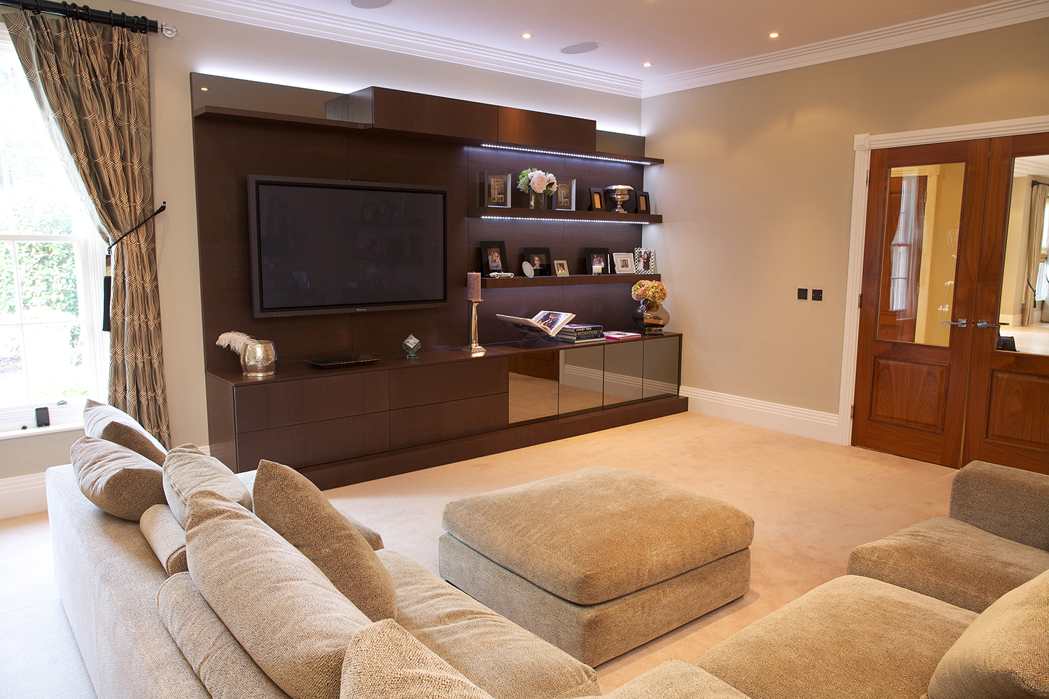 Bespoke Media / AV Cabinet - Bespoke Furniture Hampshire, UK