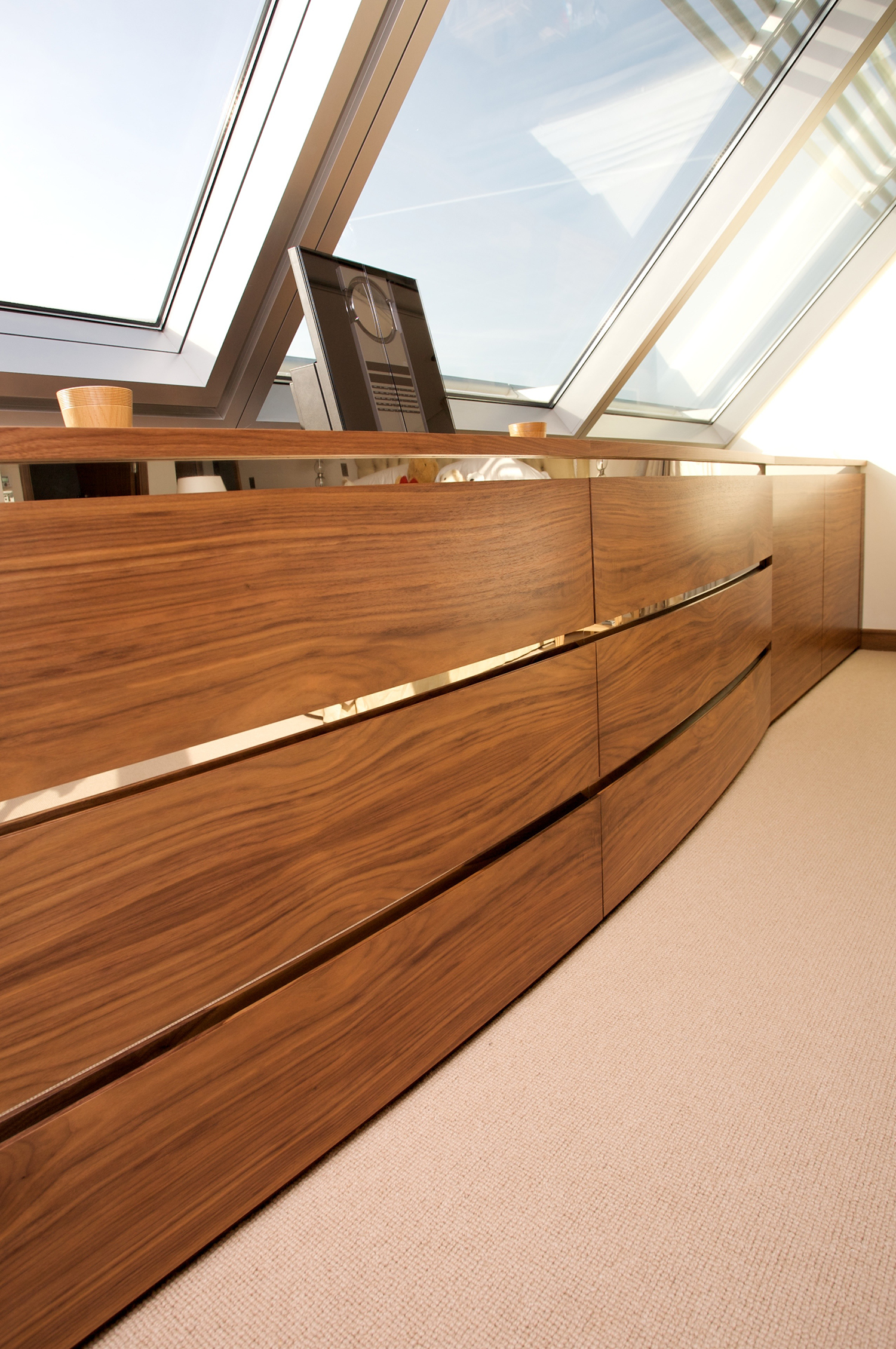 Bow Fronted Cabinets - Bespoke Furniture Hampshire, UK