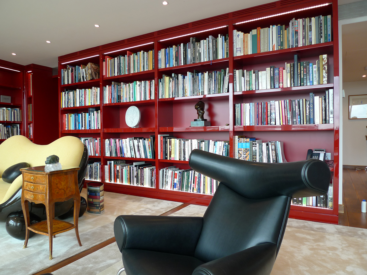 Library for 5000 Books - Bespoke Furniture Hampshire, UK