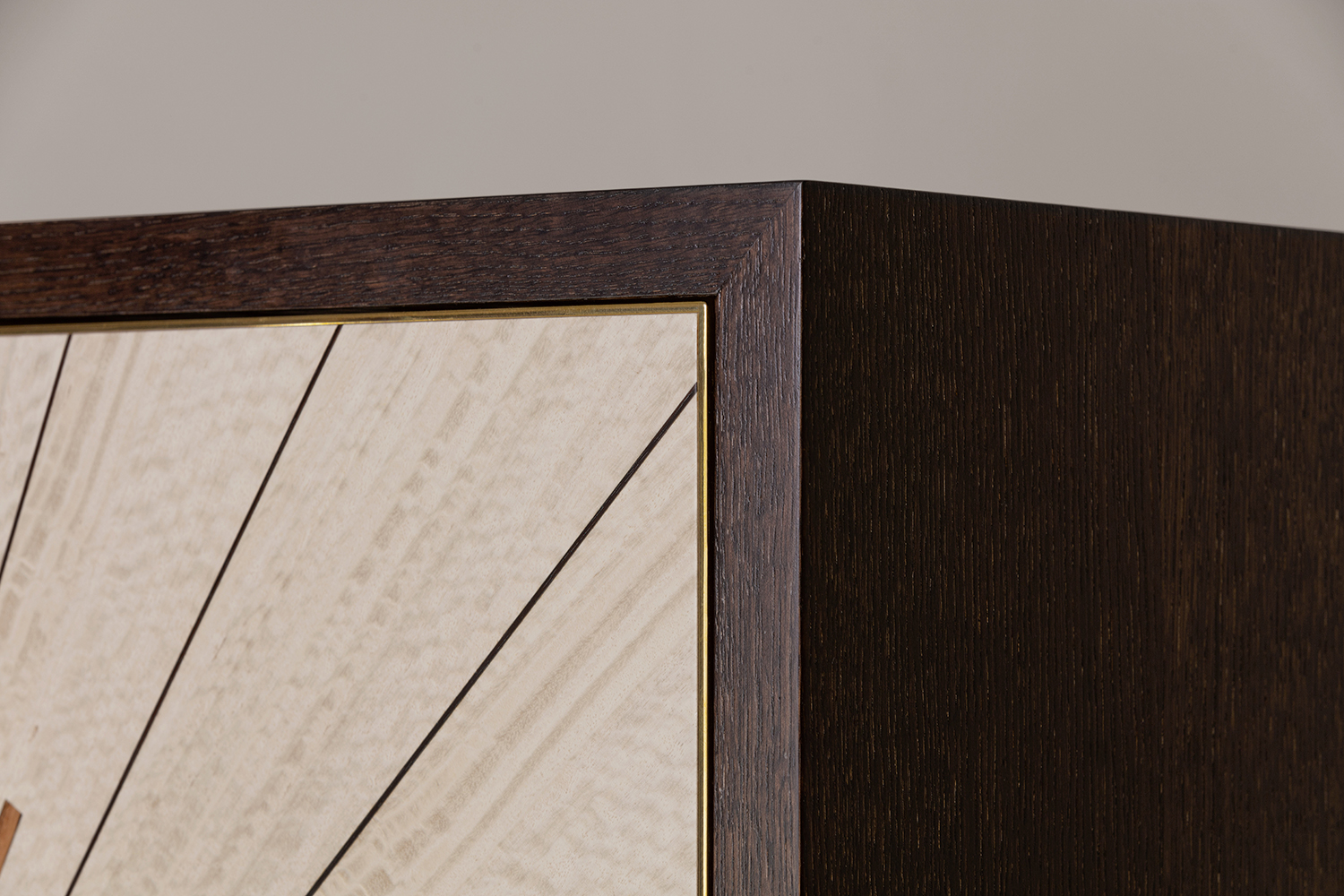 Luxury Marquetry Starburst Cabinet - Bespoke Furniture Hampshire, UK